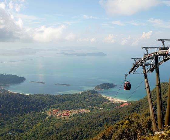 Tour Sightseeing Langkawi Destination Cable Car