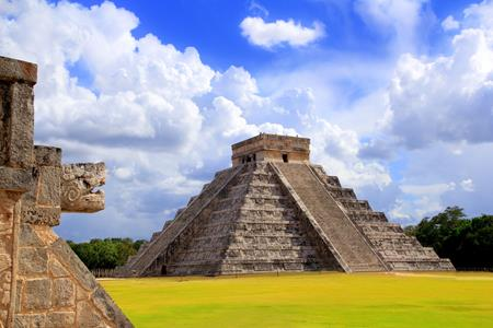 Chichen Itza Piramide Mexico